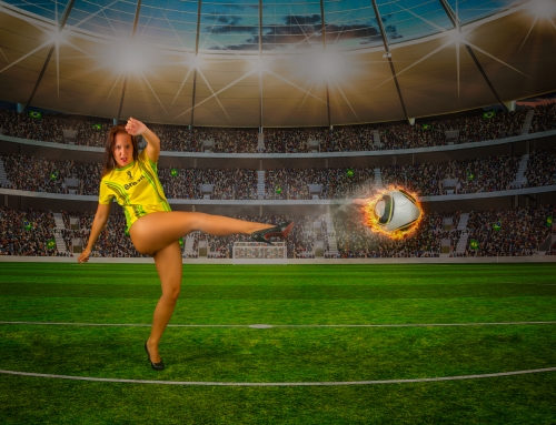 WM Fanshooting am 22. Juni 2018