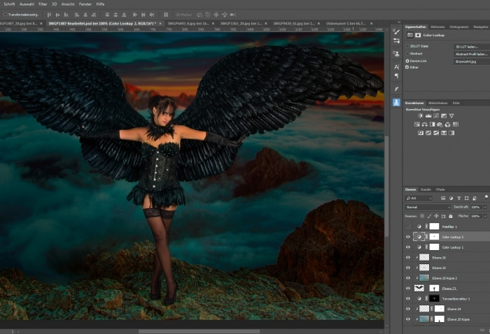 Workshop Photoshop Composing