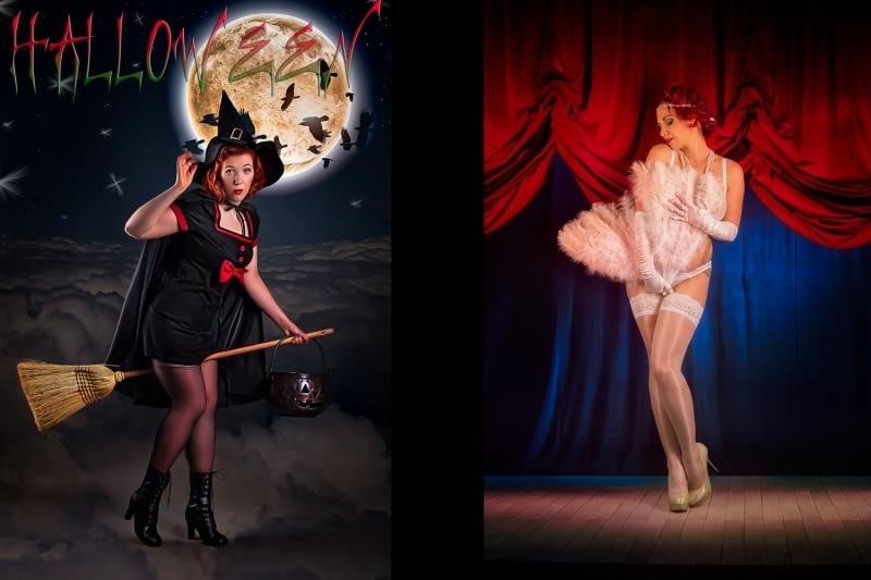 Thementage Burlesque - Halloween