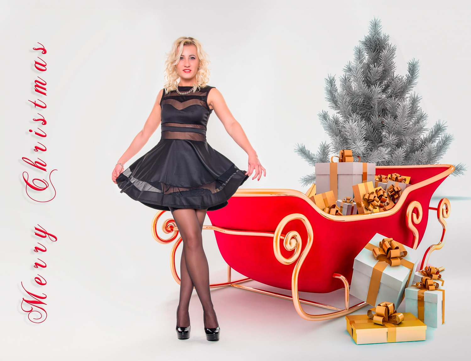 Weihnachts Fotoshooting