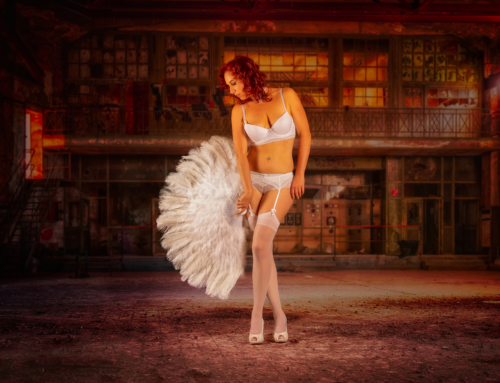 Fotoshooting Burlesque, Dessous, Fantasy