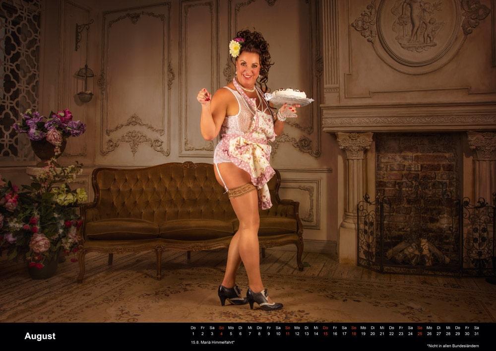 Boudoir Kalender august