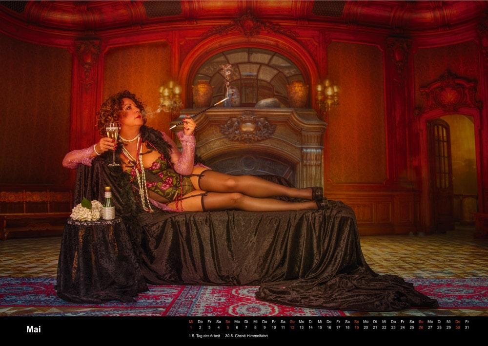 Boudoir Kalender mai