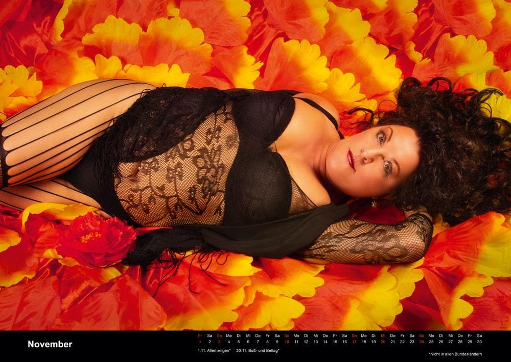 Boudoir Kalender November