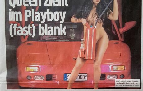 Bericht Playboyshooting im Express