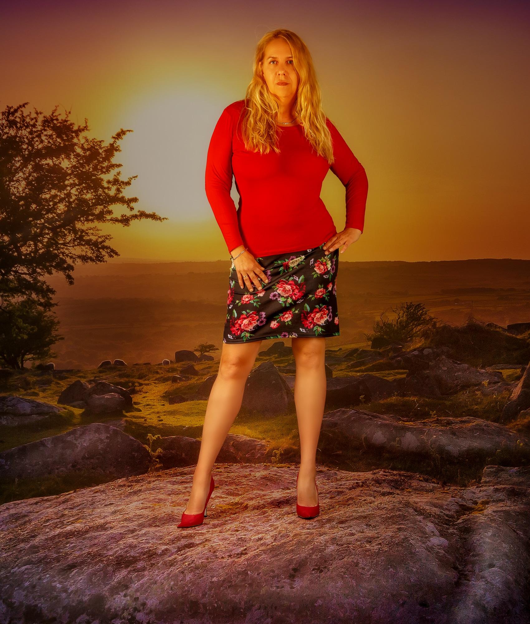 Natur Fotoshooting Fashion