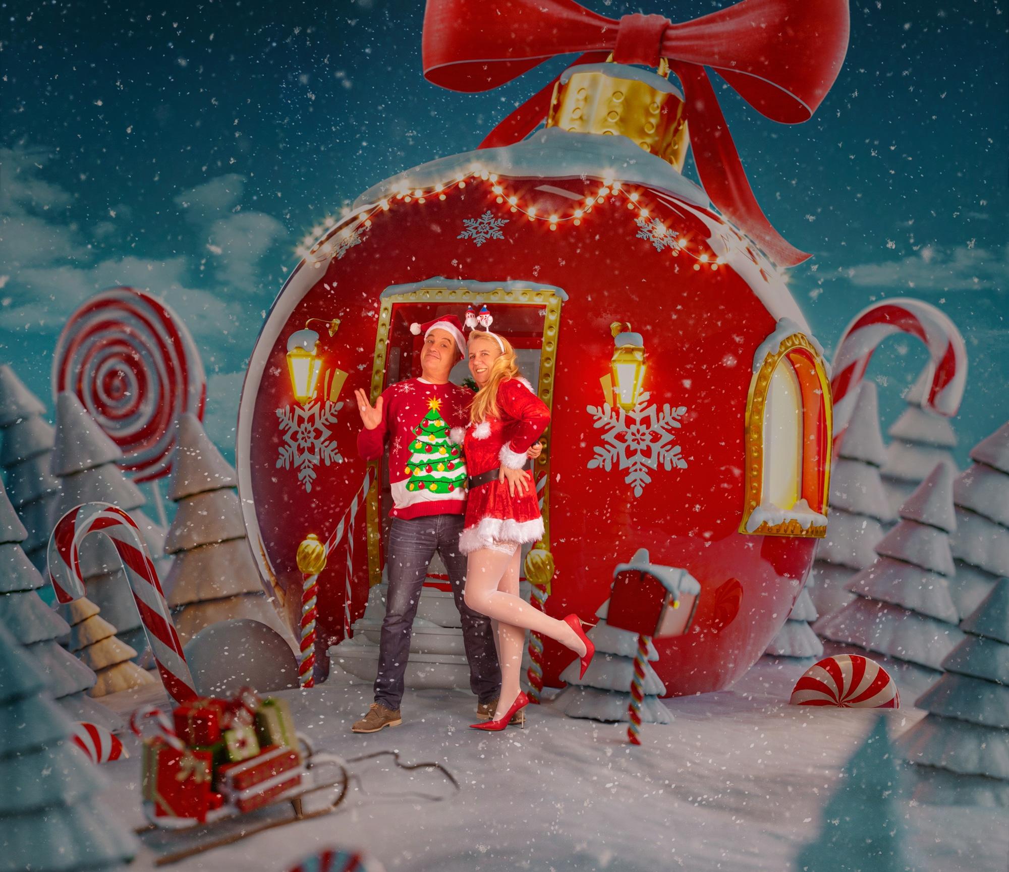 Weihnachtskarten Shooting
