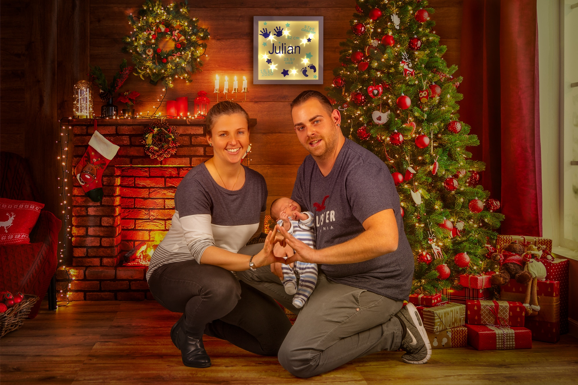 Familien Weihnachtsshooting