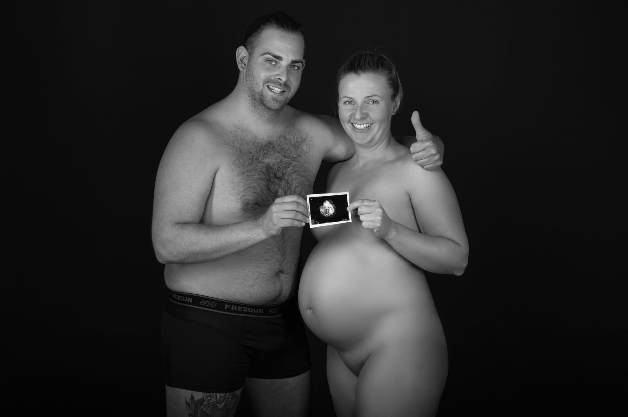 Babybauch Fotoshooting