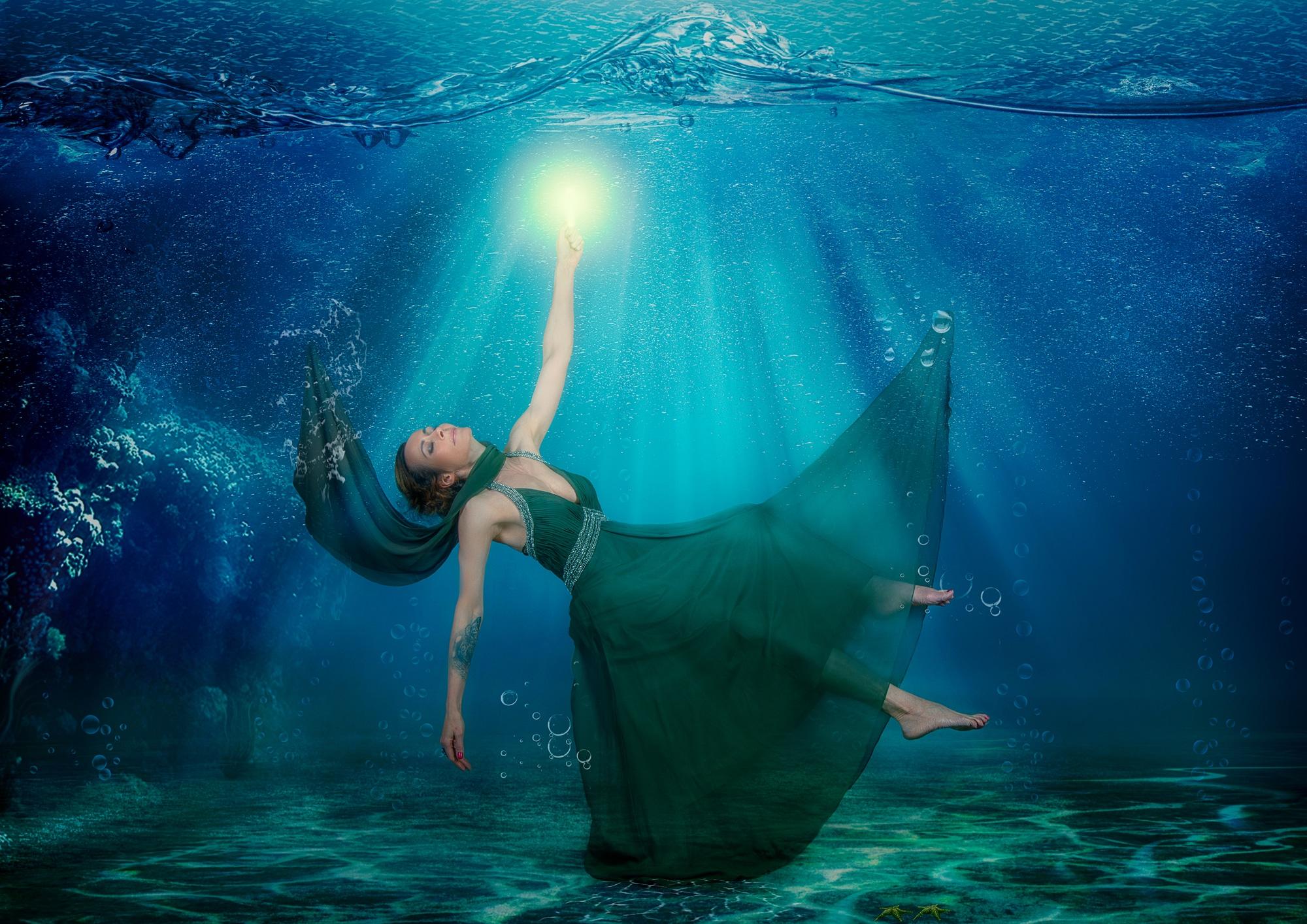 Fantasy Unter Wasser