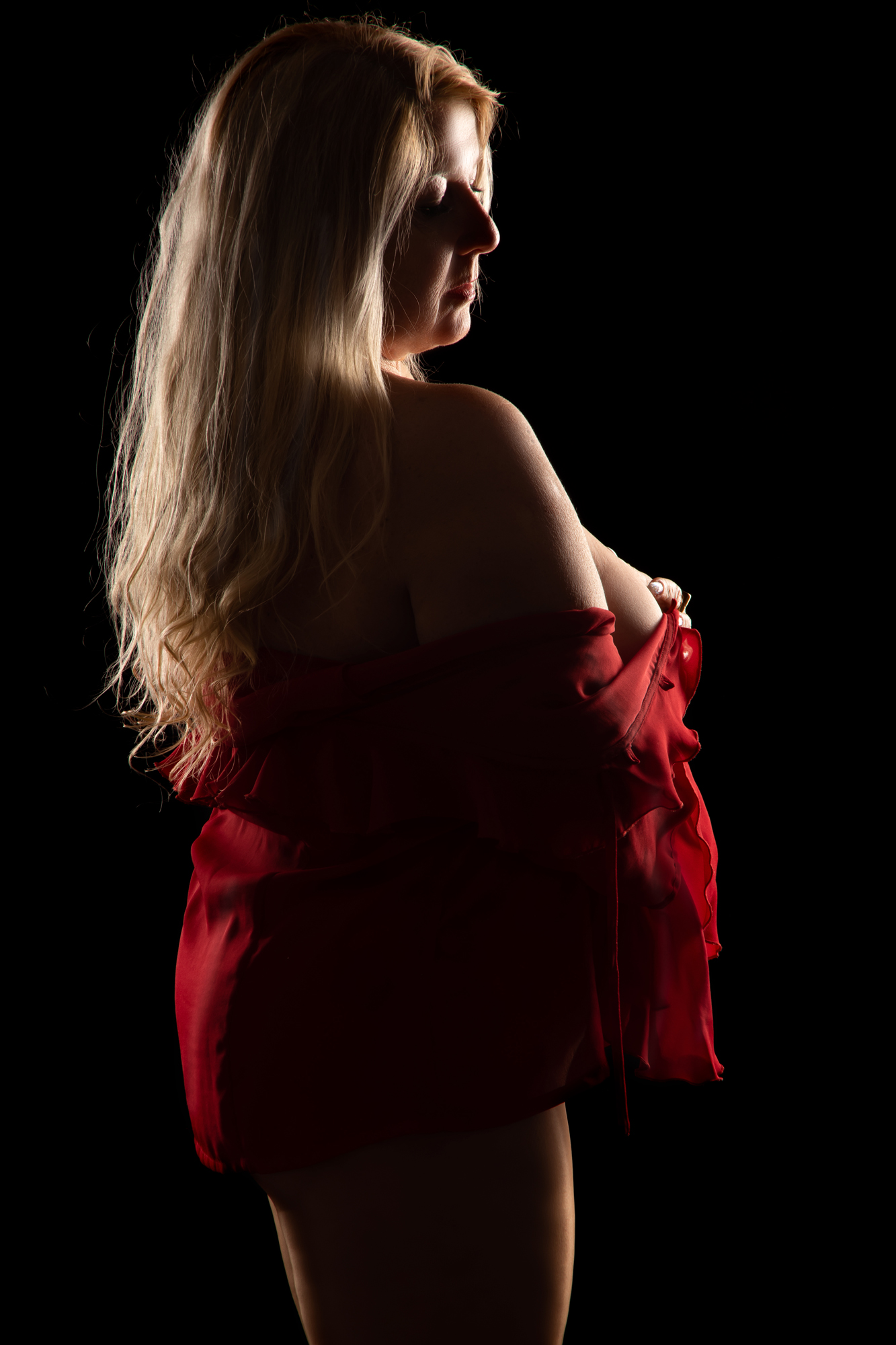 Erotik Fotoshooting Curvy Woman