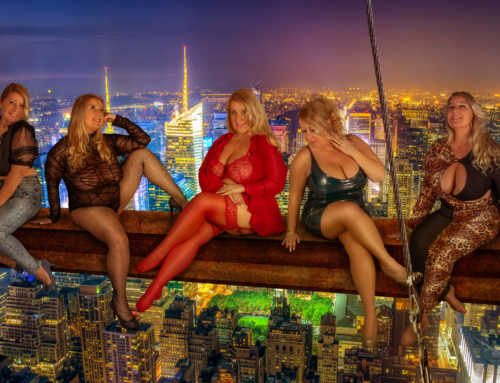 Making of over New York – sexy Curvy